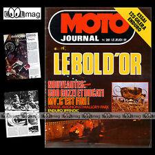 MOTO JOURNAL N°281 KAWASAKI Z1000 AVIGNON JEAN-LOUIS GUIGNABODET GUY BERTIN 1976
