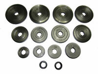 RDG TOOLS METRIC CONVERSION KIT FOR MYFORD LATHE 12 GEARS 2 SPACERS SUPER 7