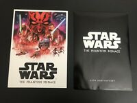 Disney Star Wars 20th Anniversary Lithograph LR The Phantom Menace May the 4th
