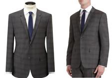 Calvin Klein Grey Paris Check Wool Tailored Suit Jacket BNWT SIze 42R RRP £280