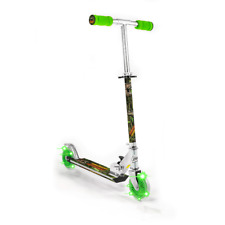 Dinosaur Push Scooter with 2 Light Up Wheels Boy Girl Kids Outdoor Game