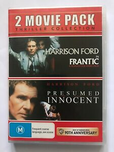 Harrison Ford DVD Double Feature - FRANTIC & PRESUMED INNOCENT - R4