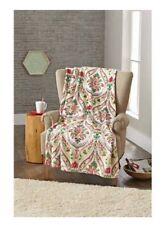"Better Homes & Gardens Oversized Plush Throw ""Holiday Damask"" Christmas  Blanket"