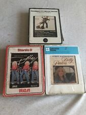 Dolly Parton Vintage 8-track Tapes Lot Of 3