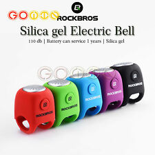 Mini Elastic silicone Cycling MTB Bicycle Electric Horn Rainproof Handlebar Bell