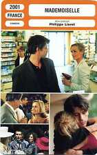 Fiche Cinéma. Cinema Card. Mademoiselle (France) Philippe Lioret 2001