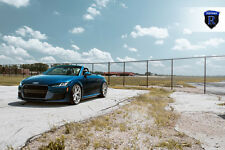 "20x10 +50 Rohana RFX5 Rotary Forming Brushed RIM 25"" BLS 5x112 Fit Audi TT 2015"