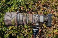 Sony 400 f2.8 FE GM OSS Neoprene lens protection Standard & Premium Camo ranges