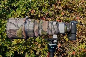 Sony 400 f2.8 Fe GM Oss Neopren Objektiv Schutz Standard & Premium Tarn Bereiche