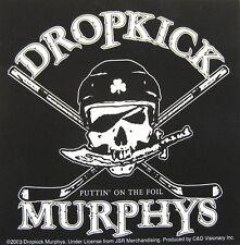 "DROPKICK MURPHYS AUFKLEBER / STICKER # 4 ""PUTTIN' ON THE FOIL"" - PVC"