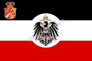 Riichsland Elsass-Lothringe Flag 3X2FT 5X3FT 6X4FT 8X5FT 100D Polyester Banner