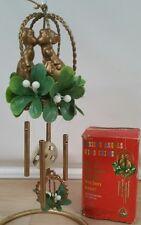 New listing Klssing Angels mistletoe Christmas vintage Wind chimes in the original box