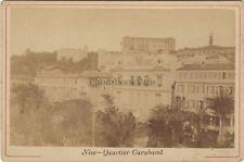 Nice Quartier Carabacel Photo Vintage Albumine