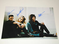 LONDON GRAMMAR SIGNED AUTOGRAPHED 12x18 PHOTO TRUTH IS A BEAUTIFUL THING RARE