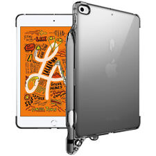 iPad Mini 5 Tablet Case,Poetic® Ultra thin TPU Smart Cover w/ Pencil Holder Gray