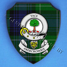 ABERCROMBIE CLAN WALL SHIELD