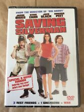 Saving Silverman, Special R rated w/ extra footage. Factory sealed. Dvd.