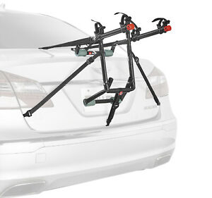 2 Bike Trunk Rack Rear Mount Two Bikes Carrier Car SUV Bicycle Sedans Sturdy Arm