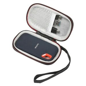 Portable Hard Carrying Case for SanDisk 250GB / 500GB / 1TB / 2TB Extreme SSD