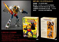 Transformers Masterpiece MP-08X MP08 King Grimlock Reissue w Throne Takara MISB