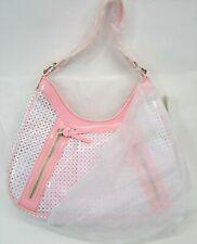 Carpisa B449 Womens White/Pink Shoulder Purse Handbag NEW W/Tags  (B1)