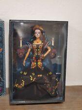NRFB Genuine Mattel FXD52 Barbie Dia De Los Muertos Doll + Original Shipping Box