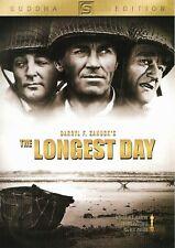 "New DVD "" The Longest Day "" John Wayne, Robert Ryan and Richard Burton"