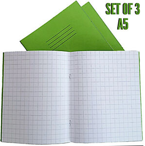 Graph Exercise  Books Rhino brand 3 x 32 page graph 10mm squared home school  C