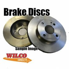 Volvo 440 460 480  BRAKE DISC 260mm  (Single) BDC3565 heck Parts Compatibility
