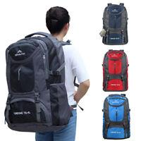 65L/75L Waterproof Backpack Shoulder Hiking Bag Outdoor Camping Travel Rucksack