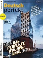 Deutsch perfekt, Heft Juni 6/2018: Das perfekte Wochenende  +++ wie neu +++