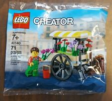 LEGO CREATOR 40140 FLOWER CART WAGON(POLY BAG RETIRED)10246/10247/10255/10264