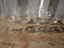 Eight Libbey Forum Wine Glasses
