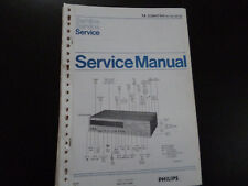 Original Service Manual Philips 22AH794