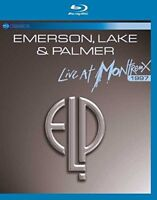 EMERSON LAKE AND PALMER LIVE AT MONTREUX 1997 BLU-RAY ALL REGIONS NEW