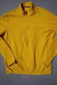 Performance Bicycle 1/2 Zip Pullover Fleece Cycling Sweatshirt, Jacket. Men's L.