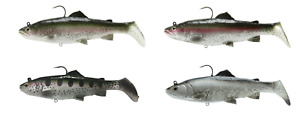 Savage Gear 3D Real Trout Swimbait Soft Body Swimbait - Bass & Pike Lure