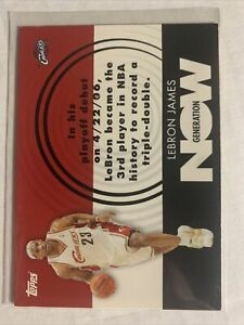 2007-08 Topps Generation Now GN1 LeBron James