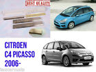 Stainless Steel Door Sill Entry Guard Covers fit Citroen C4 Picasso 2006-2011