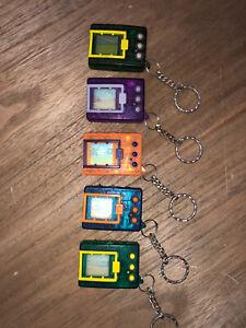 Original Bandai Digimon Virtual Pets 1997 RARE COMPLETE set Versions 1 - 5