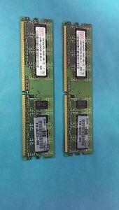 Hynix 2GB(2x1GB)1Rx8 PC2-6400U HYMP112U64CP8-S6 DDR2 DIMM 240pin RAM 404574-888