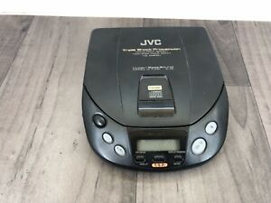 VINTAGE JVC XL P81 PERSONAL CD PLAYER WALKMAN TESTED AND WORKING