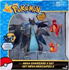 Pokemon Mega Charizard X Exclusive Figure 3-Pack Set [Charmander & Charmeleon]
