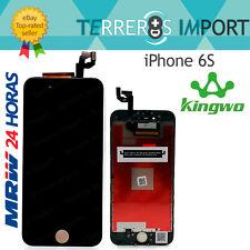 "Kingwo Pantalla Completa PREMIUM LCD iPhone 6S 4.7"" Negro Display Negra"