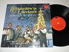 LP/WEIHNACHTEN IN OBERKRAIN/OBERKRAINER SEXTETT/FILIPLIC/KORBAR/Polydor 2440014
