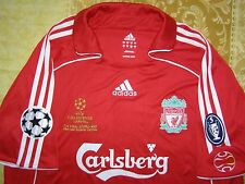 "Gerrard 8 Champions League Final Athens 2007 Liverpool home brand new jersey ""L"""