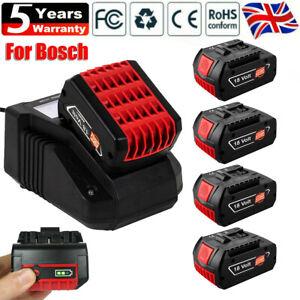5.0Ah 18V-LI Professional Bosch Battery GBA GSB BAT618 619 620 622 3165140791649