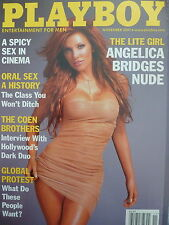 PLAYBOY MAGAZINE - Angelica Bridges - Nov. 2001