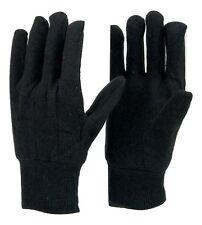 300 pairs Top Rate Premium Brown Jersey Work glove, Cotton, comfort