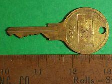 "KEY ILCO EF 1435 1 ¼"" DIAMETER THUMBGRIP GIANT BRASS Independent Lock Company RO"